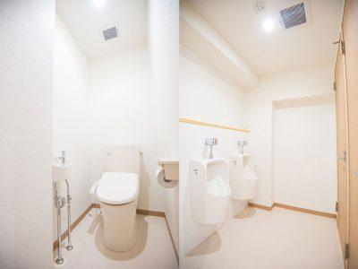 男児用トイレもあります