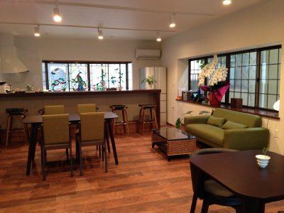 カフェスペース内部