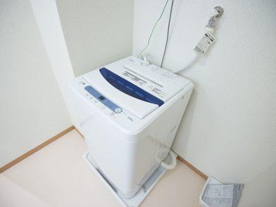 洗濯機は無料で利用が可能