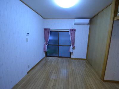 B号室 床暖房付。