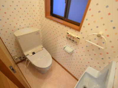 トイレは全部で3ヶ所!
