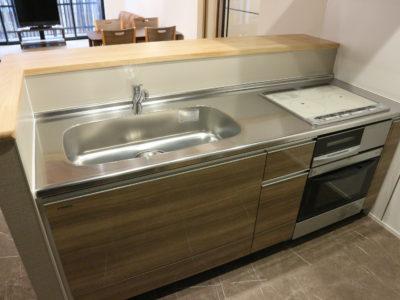 システムキッチンは2台あります。