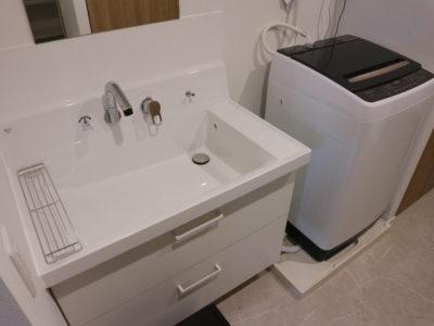 2部屋に1台ずつの洗面・洗濯機