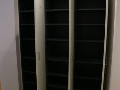 エントランスにある1部屋1か所の下駄箱