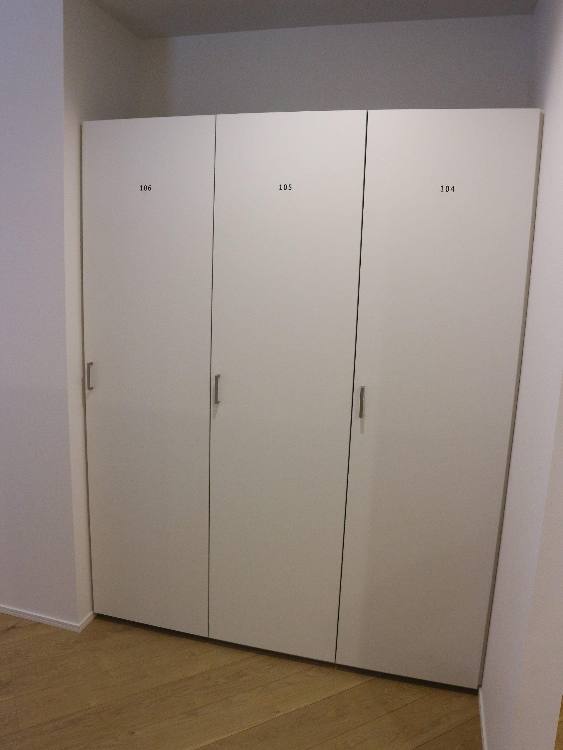 1部屋ごとに10足以上は入る下駄箱