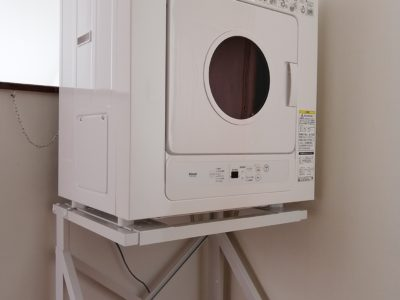 ガス乾燥機完備