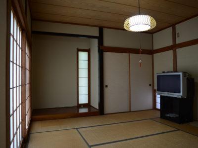 1階の和室。共用スペースになります。