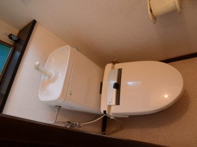 1階のトイレ。