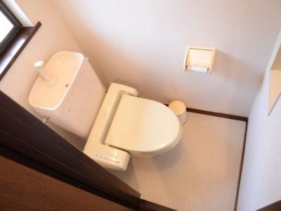 2階のトイレ。
