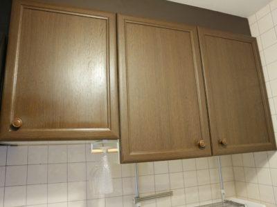 キッチン個人収納スペースの様子