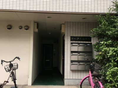 建物入口(オートロックは有りません)